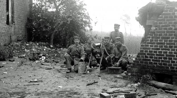 20. januar 1917. Maskingeværernes kølevand frøs til is – vinter i Galicien