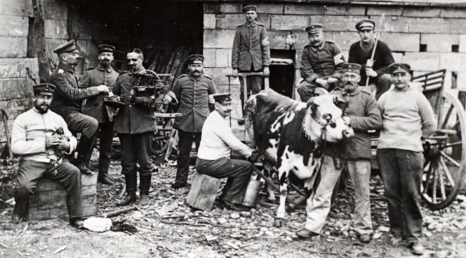 """18. november 1914. """"Livet i Skyttegravene"""""""