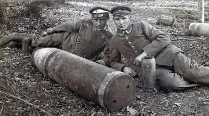 13. januar 1918. Dræbt, da blindgænger detonerede