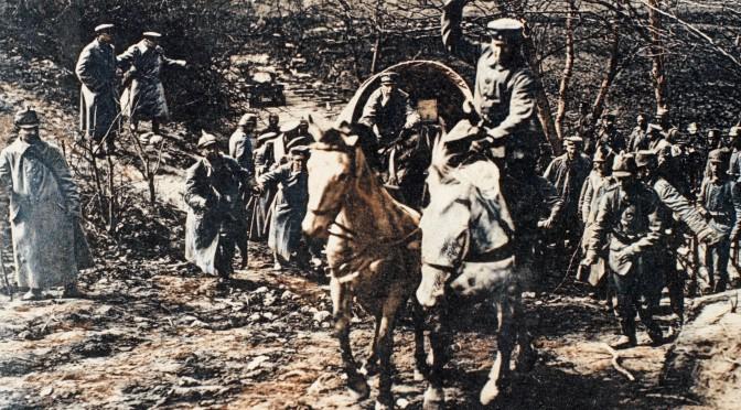 """18. oktober 1914. Hemming Skov på Østfronten: """"Det gik jo nu den vej, hønsene skraber …"""""""