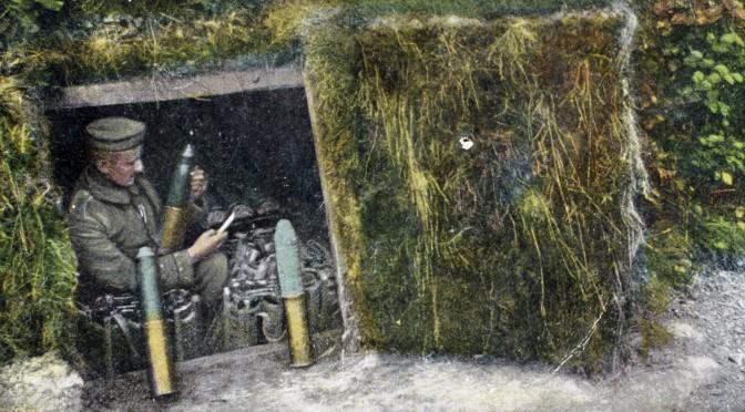 19. marts 1916. Brunkager, røgede ål og franske granater