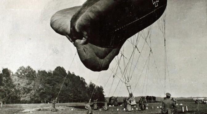 28. februar 1917. Lynnedslag i observationsballonen