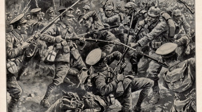 27. marts 1916. Fanget af canadierne ved davretid …