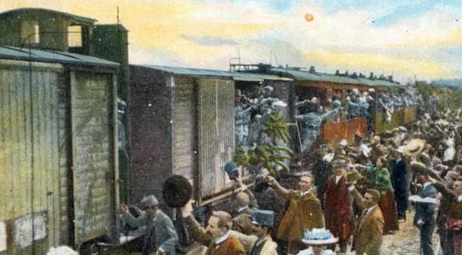 1. oktober 1914. Hemming Skov skifter front og rykker ind i Rusland