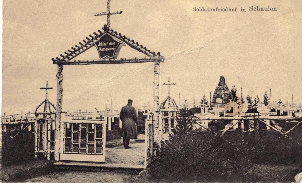 1916-02-01_LIR84_Wagner_Soldatenfriedhof in Schaulen