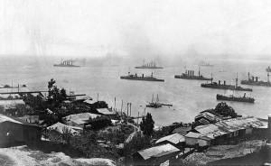 Ostasiengeschwader Chile 3 nov 1914