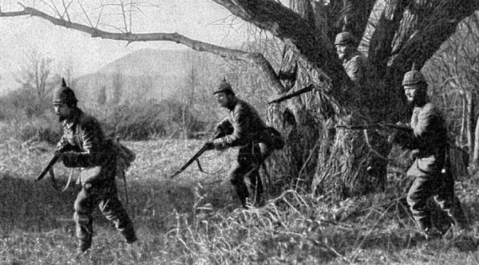 2. november 1914. Patruljevirksomhed