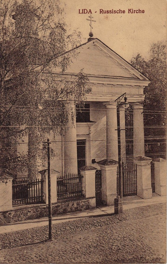 1916-02-18 LIR84 Otto Theodor Wagner - LIDA - Russische Kirche