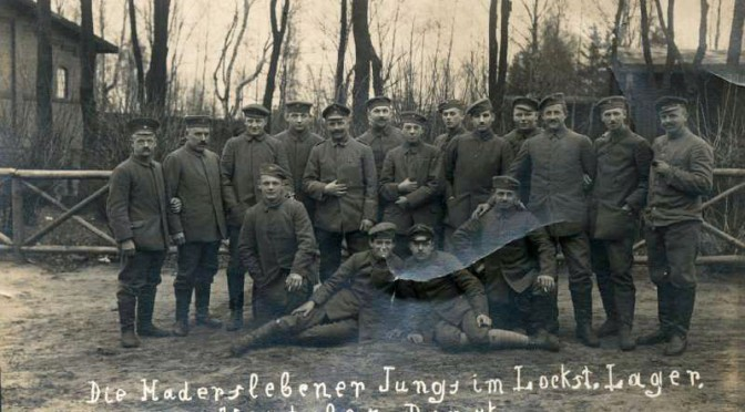16. april 1916. Alarmering: Engelsk landgang i Jylland?