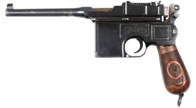 10. juli 1916 – Flensborg Avis: Officerernes håndvåben