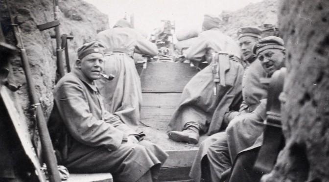 6. maj 1917. Bergholt: Forskellen på østfronten og vestfronten