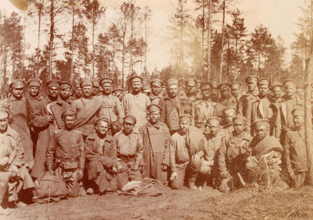 Russiske krigsfanger, Claus Eskildsens østfrontalbum (Lokalhistorisk Arkiv for Gl. Tønder Kommune)