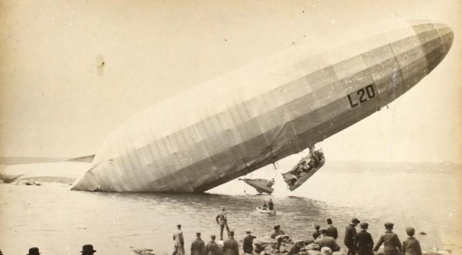 3. maj 1915 – Zeppelin L20´s havari