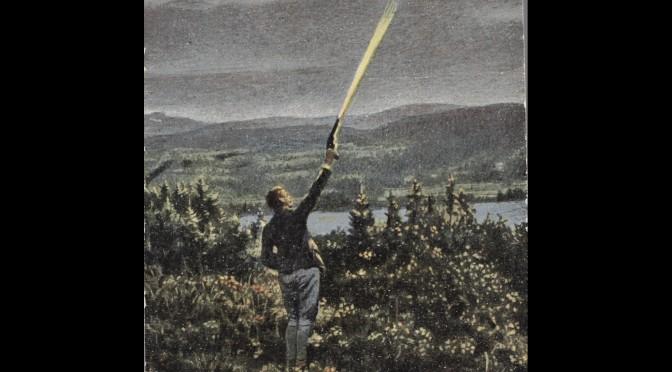 26. juni 1916. I stilling ved Højde 304 ved Verdun