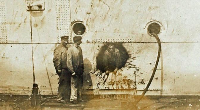 2. juni 1916. Indespærret i bugen på den sunkne SMS Seydlitz