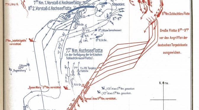 31. maj 1916. Jyllandsslaget – overblik over kampene (video)