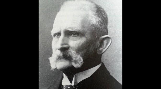 """8. juni 1916. Agent """"Z"""" hos Willemoës i Ribe"""