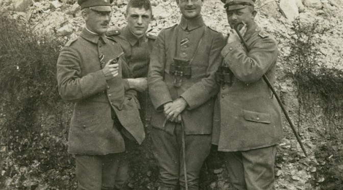 """29. juni 1916 – Johannes Ankersen: """"Tørst er forfærdeligt"""""""