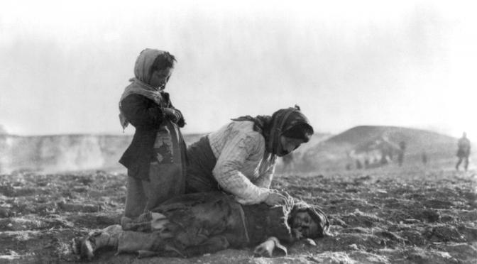 """15. November 1916. I Mosul: """"Kun ørkenstormen kan forvandle jord og himmel til et kogende helvede"""""""