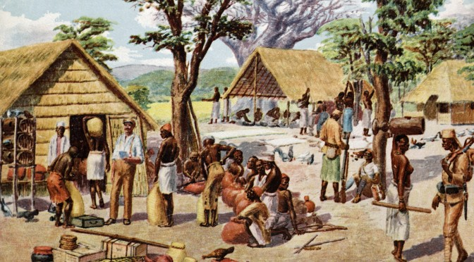 """6. marts 1917. Østafrika: """"Der lød et klingende, syngende Brag"""""""