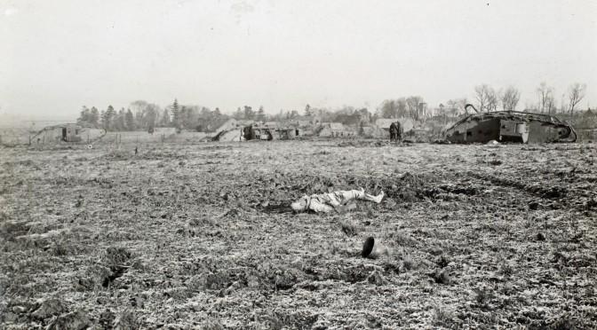 """20. juli 1916. Somme: """"Tåge, gas, røg og støv gør fronten usynlig selv på kort afstand"""""""