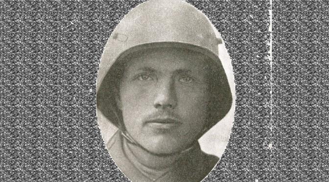"""17.april 1917. Soldaten Mikael Steffensens møde med engelsk tank: """"Som Hagl smældede Kuglerne mod Barakkerne og Træerne"""""""