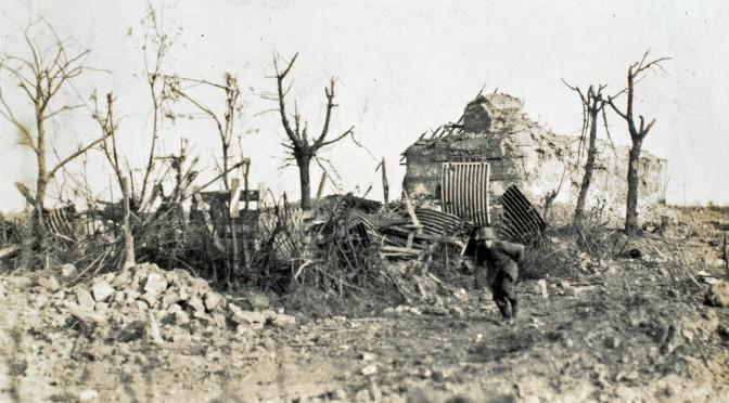 """28. juli 1916. Jakob Moos: """"Jeg løb bogstavelig talt med livet i hænderne"""""""