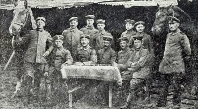"""29. januar 1918. Asmus Andresen: """"Det var sidste Gang, jeg meldte mig frivillig til at jævne Granathuller""""."""