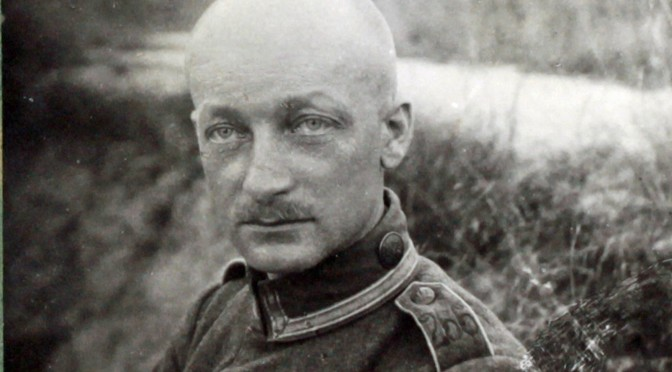 """18. januar 1917. Claus Eskildsen: """"Det viste sig hurtigt, at Vandet var den værste Fjende…"""""""