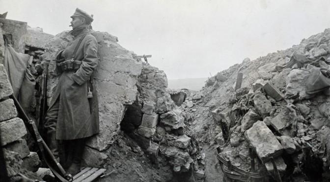 """22. oktober 1916. """"Pludselig er helvede løs!"""" Med materiel til forreste linje ved Somme"""
