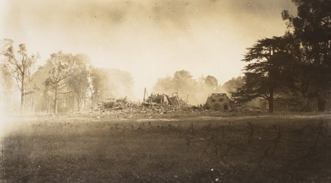 19. oktober 1916. I tågen ved Somme: Englænderne kun 15 skridt væk!