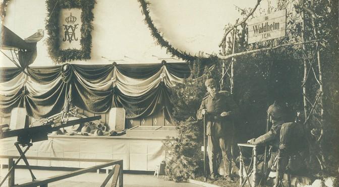22. oktober 1916 – Krigsudstilling åbner i Flensborg