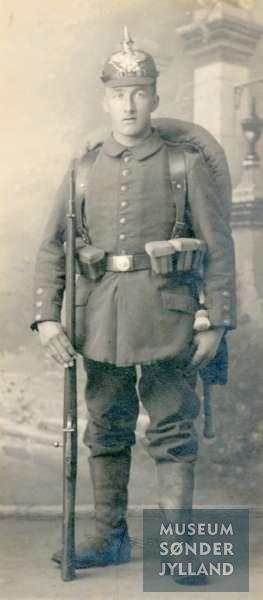 Hans Tychsen (1891-1916) Mommark, Lysabild