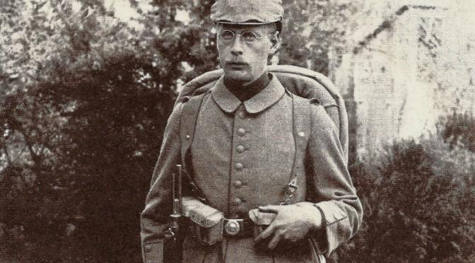 """22. oktober 1916. """"Allez lá-bas!"""" Hans Fuglsang-Damgaard tages til fange ved Somme"""