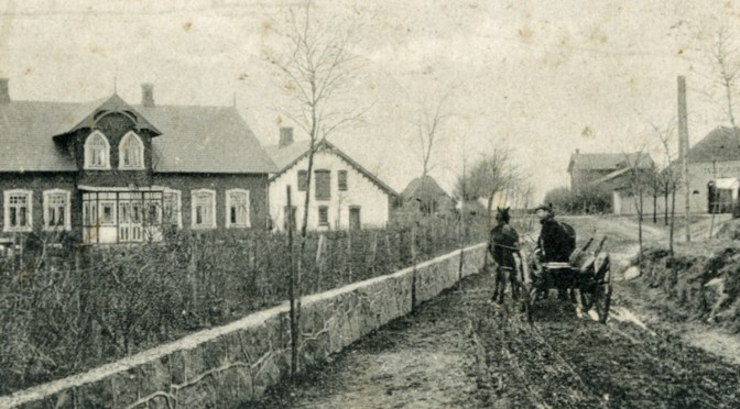 27. oktober 1916. Jakob Moos' natlige vandring mod nord