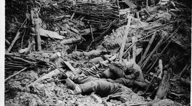 """8. oktober 1916. Ved Somme: """"Lad kun være, for jeg er færdig!"""""""