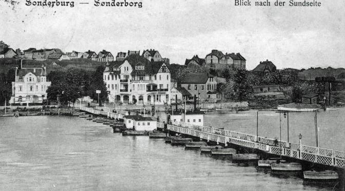 26. oktober 1916. Jakob Moos med kurs mod Danmark