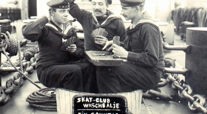 23. august 1917. Loppetjans på minestrygerne i Østersøen