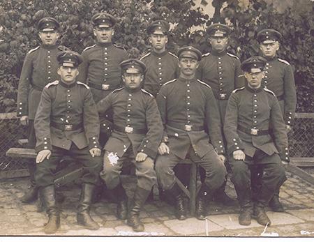 29. april 1917. Hans Lindholm: Jeg kunne ikke se og havde en forfærdelig smerte i øjnene