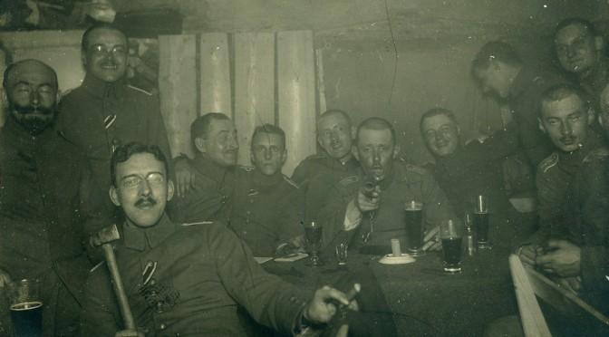 """27. januar 1917 – Ankersen: """"en virkelig fornøjelig fest"""""""