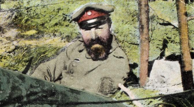 28. januar 1917. Kompagni-bedstefar i hårde orlovs-forhandlinger