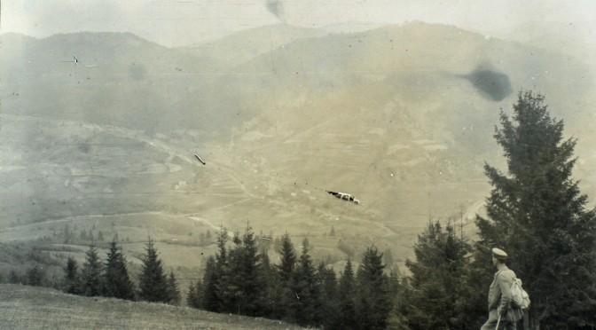 3. november 1916. Ved fronten i Rumæniens bjerge