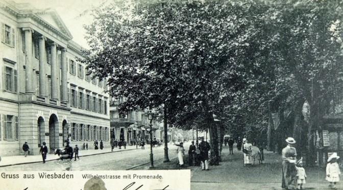 4. november 1916. På kur i Wiesbaden – og en død bror