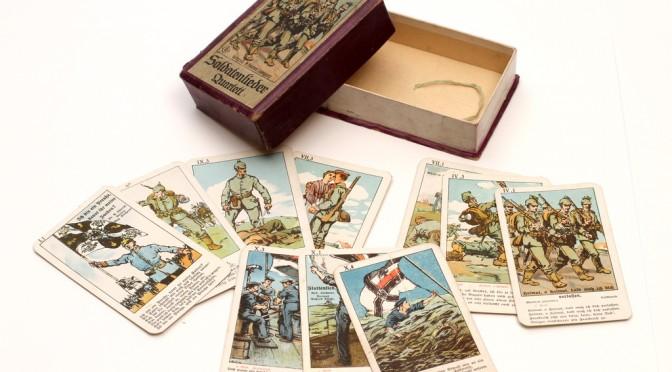Fra samlingerne: Tyske firkort