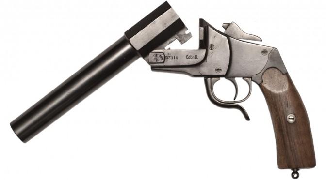 Fra samlingerne: Signalpistol