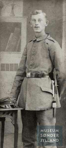 Carsten Christian Jørgensen (1893-1917) Sønderborg