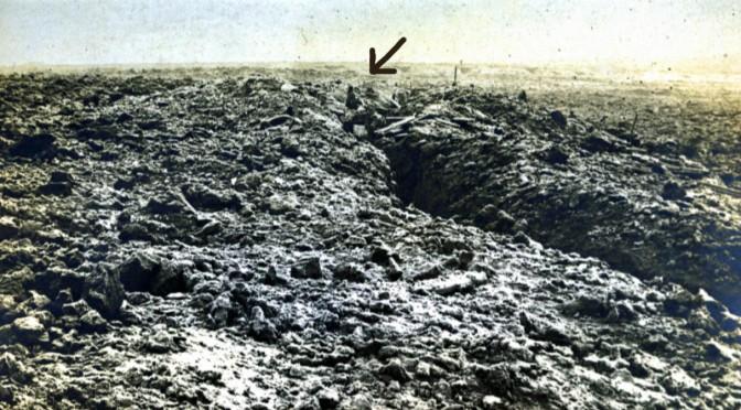 13. marts 1917. Faret vild i den forreste linje
