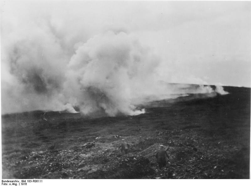 [1.] Weltkrieg [1914 - 1918] Sperrfeuer bei Verdun