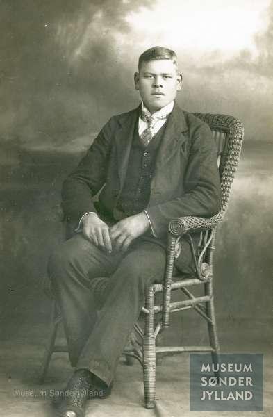Carl Tücho Clausen (1897-1917) Sønderby, Kegnæs