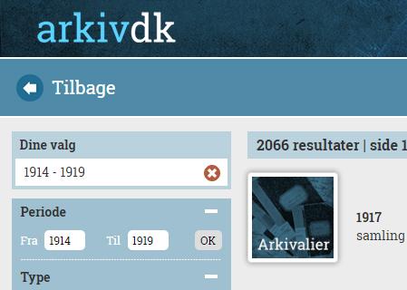 Ny funktion på hjemmesiden: Søg i fotos og arkivalier fra hele Danmark